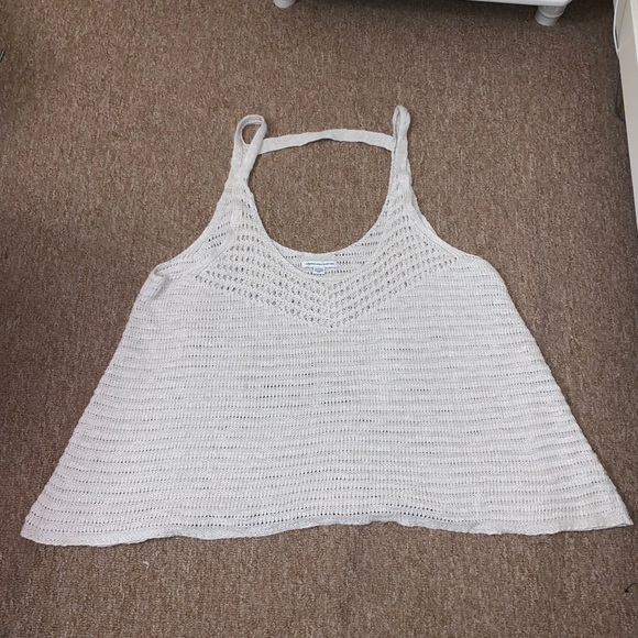 American Eagle Outfitters Tops - •American Eagle• Crochet Tank Top (NWOT)